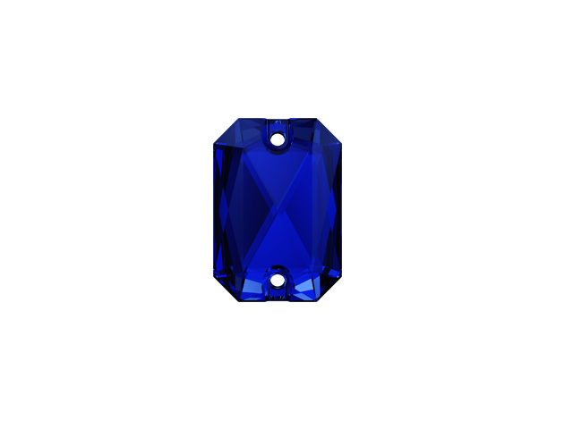 EMERALD CUT SEW-ON 20MM MAJESTIC BLUE