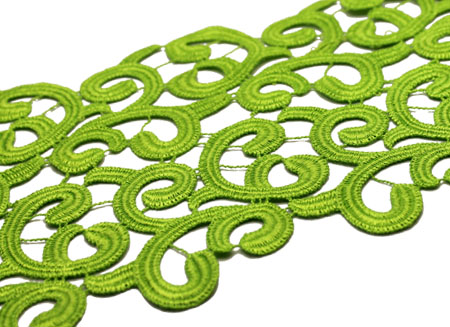 BRAMBLE RIBBON PARIS GREEN