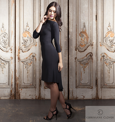BROOKLYN LATIN DRESS MEDIUM BLACK