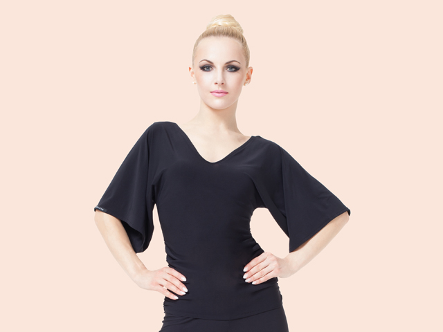 NIGHTFALL TOP MEDIUM BLACK