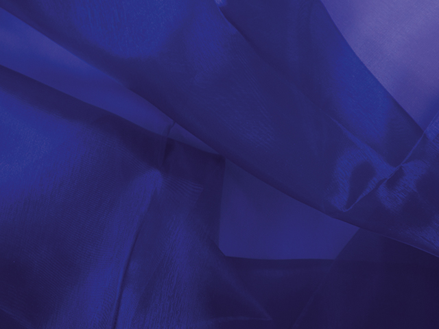 CRYSTAL ORGANZA BLUEBERRY