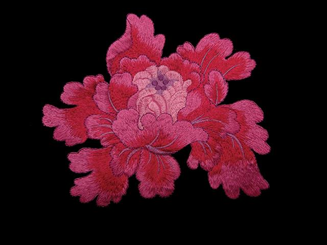 PASSION EMBROIDERED MOTIF PINK MULTI
