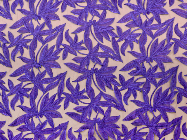 HELENA EMBROIDERED NET PURPLE