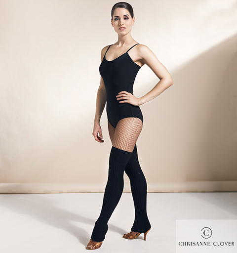 FOREVER LEOTARD LARGE BLACK