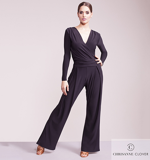 FORTUNE JUMPSUIT LARGE BLACK