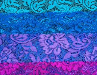 FLOWER STRETCH LACE