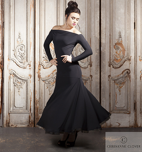 KENSINGTON BALLROOM DRESS LARGE BLACK