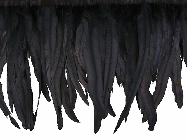 LARGE COQUE FRINGE - APP 25CM BLACK OIL