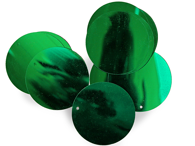 LOOSE SEQUINS 50MM EMERALD