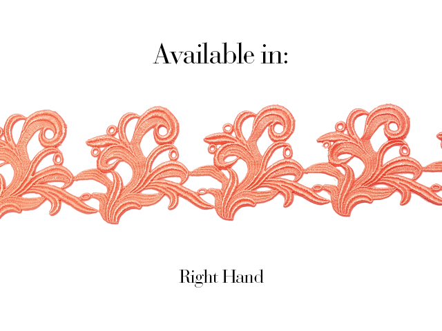 LUCY RIBBON CORAL TWIST
