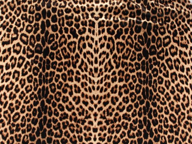ANIMAL DOUBLE PRINT ON LUXURY CREPE
