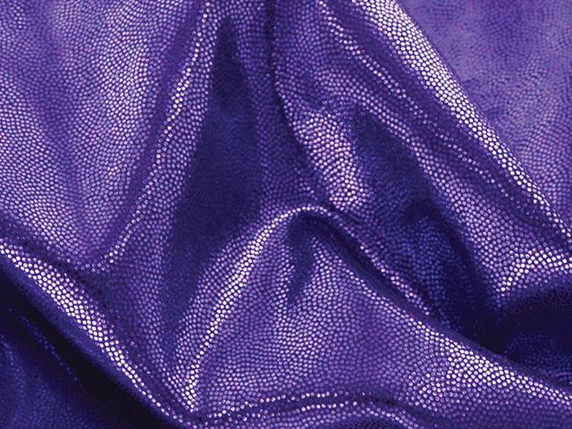 METALLIC DOT SHINE LYCRA PURPLE
