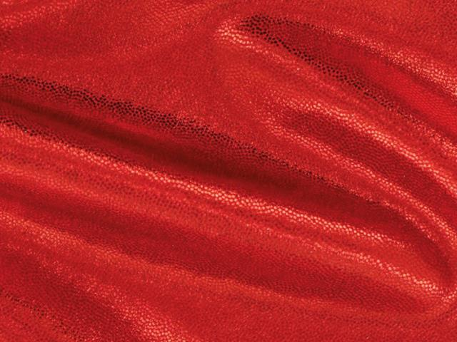 METALLIC DOT SHINE LYCRA RED