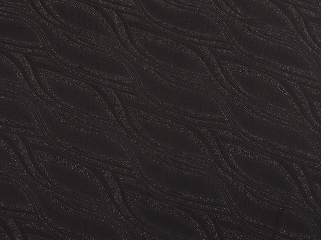 SPARKLE ABSTRACT STRETCH BLACK