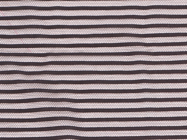 STRETCH STRIPE MESH BLACK
