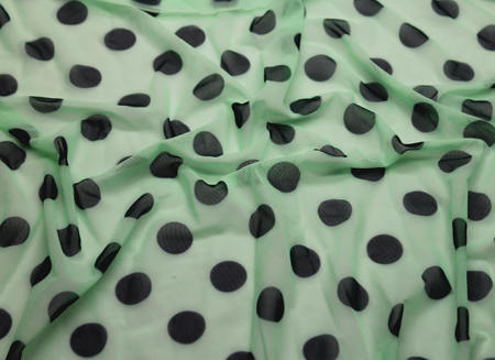 POLKA DOT STRETCH NET P-MINT