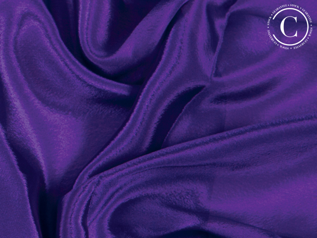SATIN CHIFFON PURPLE RAIN