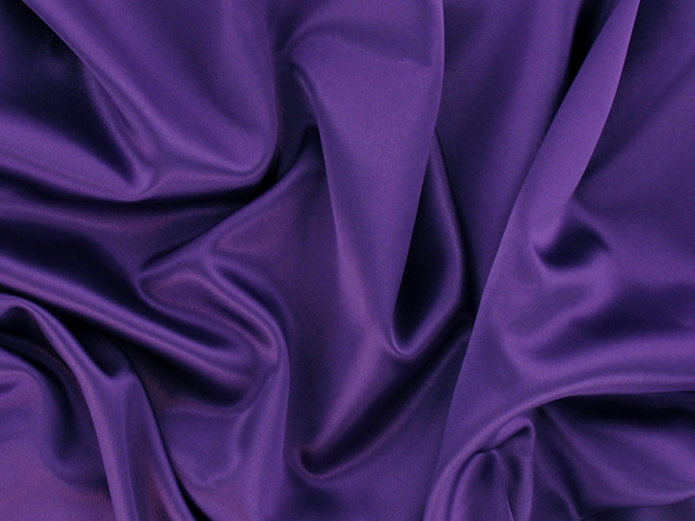 STRETCH SATIN GLOSS PLUM