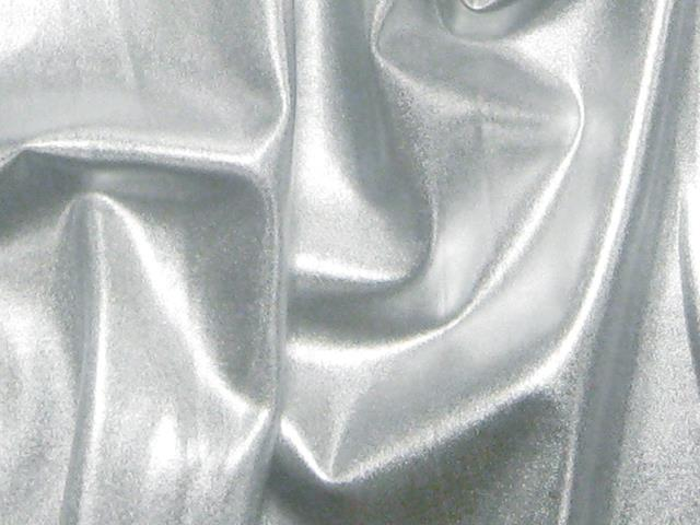 STRETCH METALLIC LYCRA SILVER