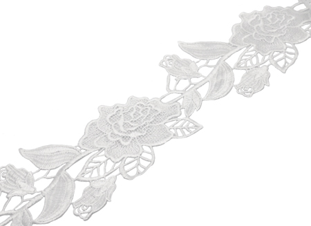 ROSA RIBBON ANTIQUE WHITE