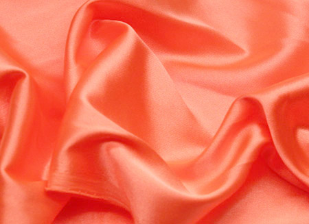 STRETCH SATIN PEACH