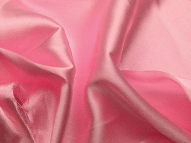 STRETCH SATIN ROSE PINK