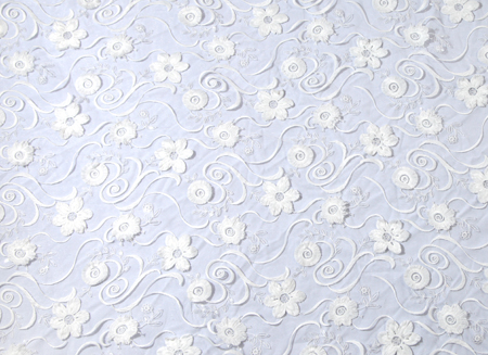 BUTTERCUP SEQUINE SOFT TUL WHITE
