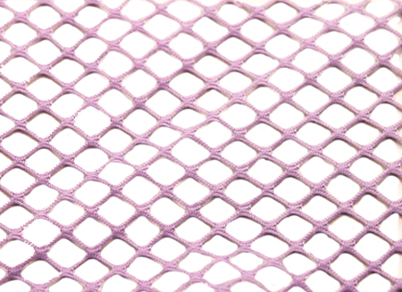 STRETCH  FISHNET-SMALL LILAC