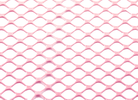 STRETCH  FISHNET-SMALL ROSE PINK