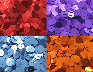LOOSE SEQUINS 6MM