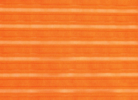 SHEER STRIPE LYCRA ORANGE