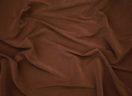 SUEDE STRETCH GABARDINE BROWN
