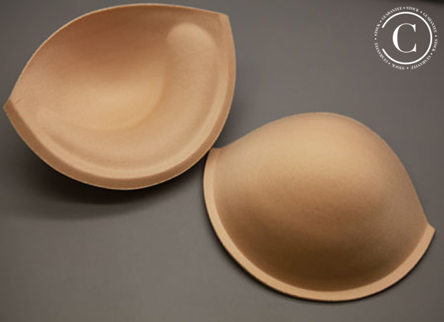 BRA CUPS WITH UPLIFT - FLESH